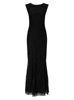 Samira Tapework Full Length Dress