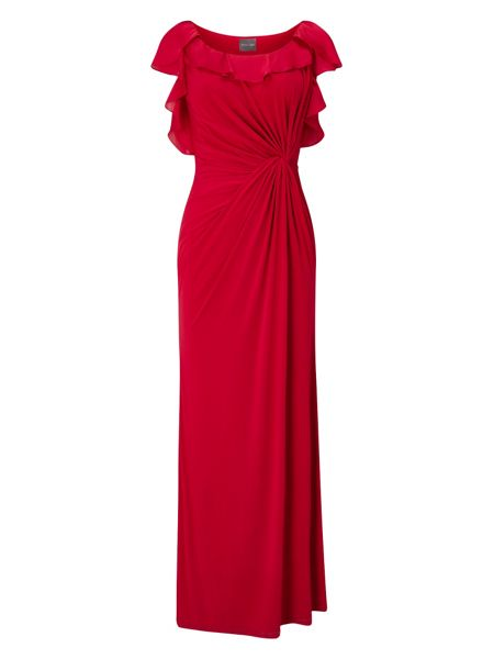 Phase Eight Laurita Frill Sleeve Maxi Dress