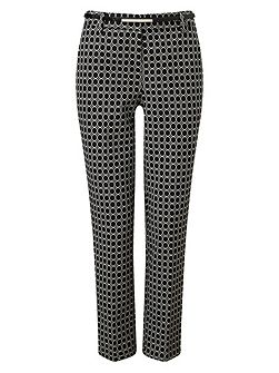 Alice Oval Belted Trousers