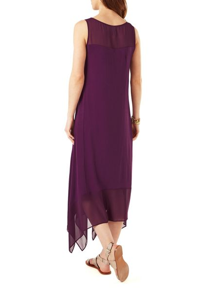 Phase Eight Nina Woven Mix Dress