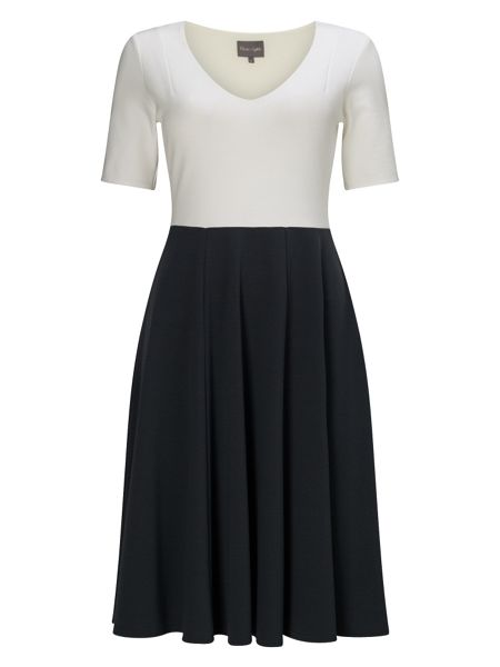 Phase Eight Colourblock Ponte Dress