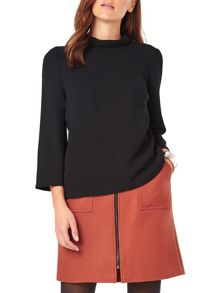 Phase Eight Franky Funnel Neck Blouse
