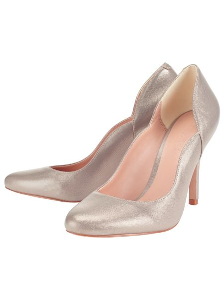 Phase Eight Paloma Shimmer Court Shoes