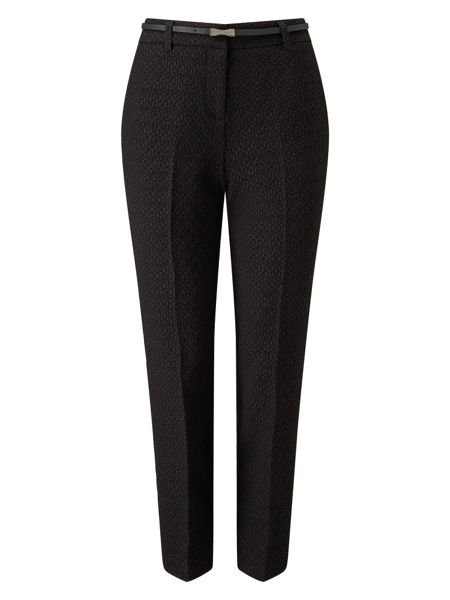 Phase Eight Alice Jacquard Belted Trousers