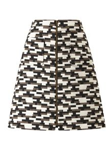 Phase Eight Jacquard Drue Skirt