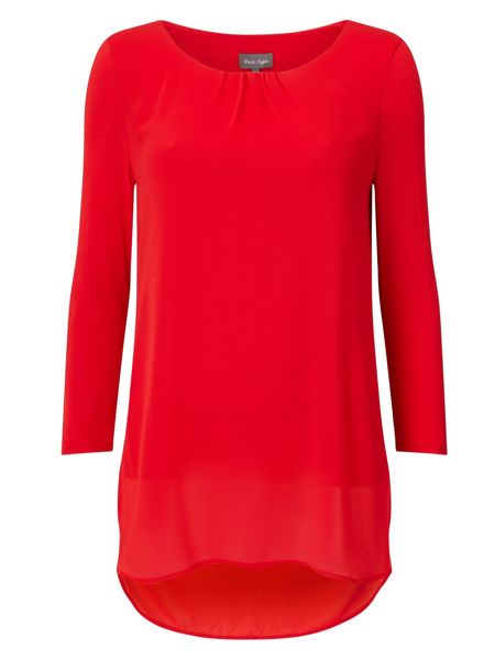 Phase Eight Bonnie Longline Blouse