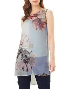 Phase Eight Clara Print Silk Tunic