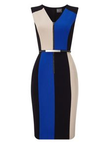 Phase Eight Iona Colourblock Dress