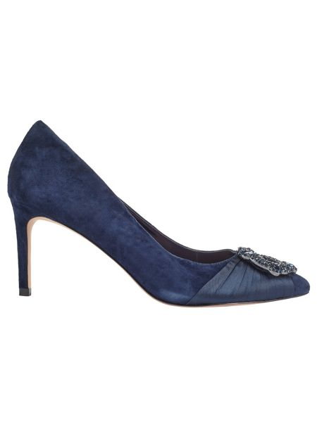 Phase Eight Georgie Crystal Court Shoes