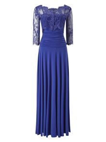 Phase Eight Romily Lace Full Length Dress