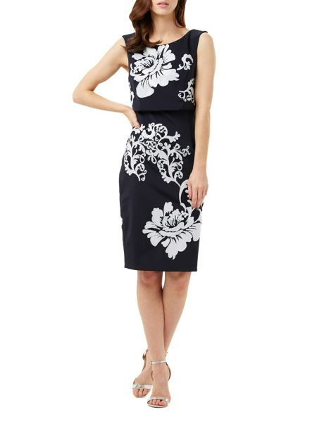Phase Eight Moira Sequin Flower Dress