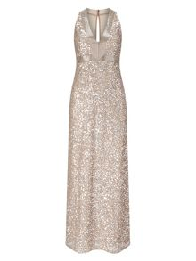Phase Eight Serina Sequinned Full Length Dress
