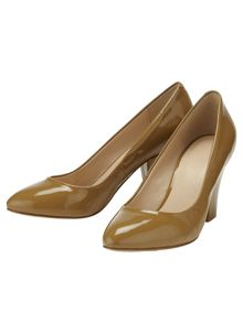 Phase Eight Amari Patent Leather Court Shoes