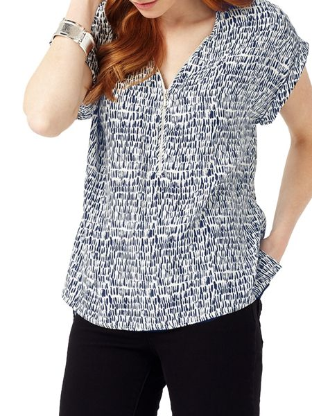 Phase Eight Denver Print Remi Blouse