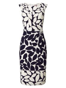 Phase Eight Leora Leaf Print Dress