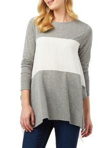 Phase Eight Caroline Colour Block Top