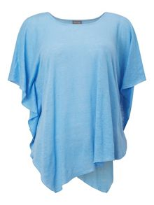 Phase Eight Thekla Asymmetric Linen Top