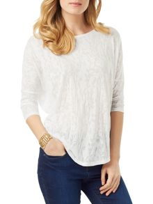 Phase Eight Ditsy Burnout Catrina Top