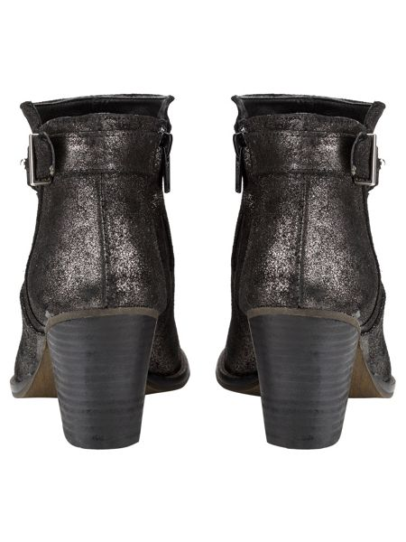 Phase Eight Mimi Metallic Leather Ankle Boots