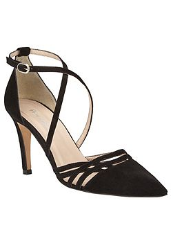 Sabine Leather Court Shoes