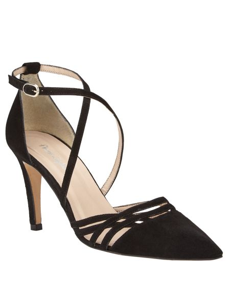 Phase Eight Sabine Leather Court Shoes