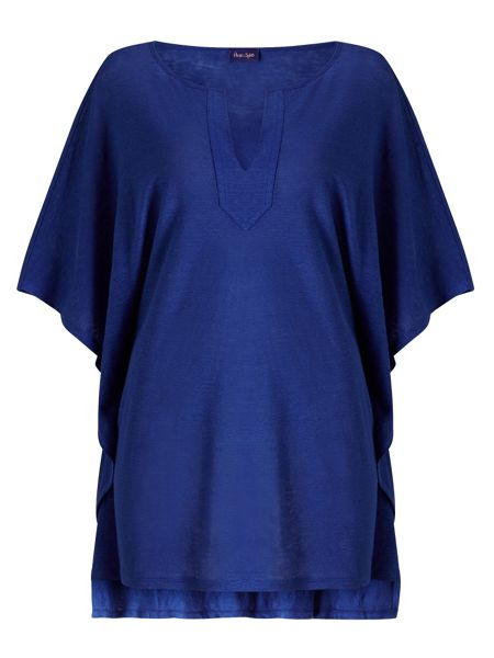 Phase Eight Linen kaftan Top