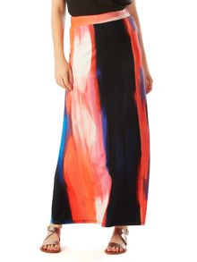 Phase Eight Leona Brush Stroke Maxi Skirt