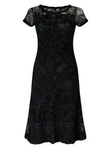 Phase Eight Tilly Tapework Dress