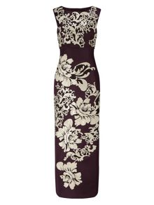 Phase Eight Doris Embroidered Full Length Dress