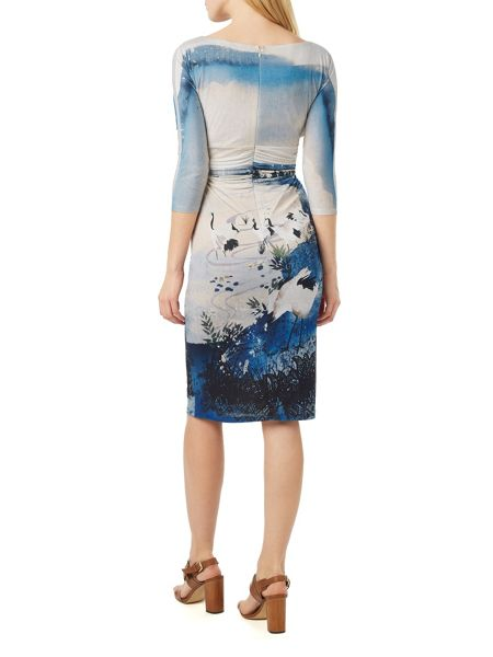 Phase Eight Landscape Print Dress