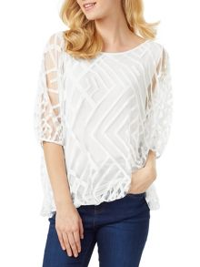 Phase Eight Eve Geo Burnout Top