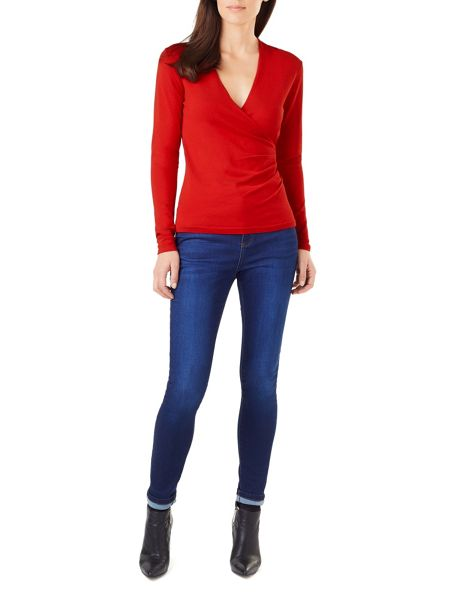 Phase Eight Wilma Wrap Knit Top