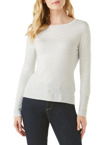 Phase Eight Stevie Button Cuff Knit Top