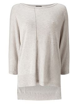 Eloisa Exposed Seam Knit Jumper