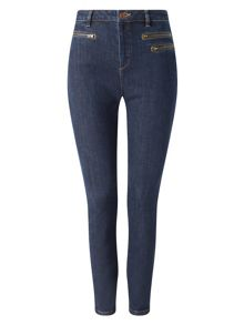 Phase Eight Victoria Triple Zip Jeans
