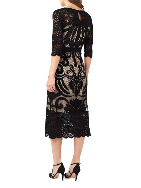 Phase Eight Anna Placement Lace Dress