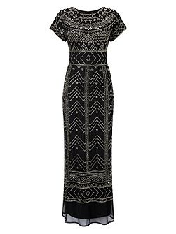 Cleo Embellished Full Length Dress