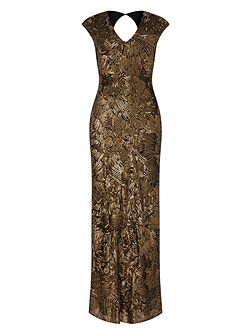 Alexi Sequin Maxi Dress