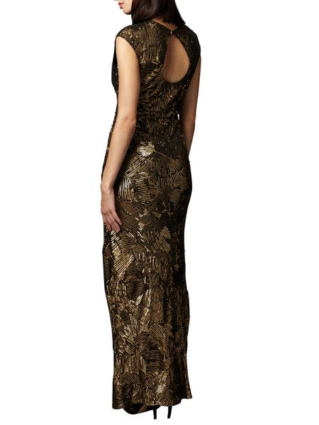 Phase Eight Alexi Sequin Maxi Dress