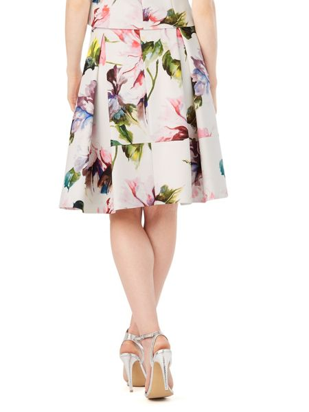 Phase Eight Botanical Scuba Skirt