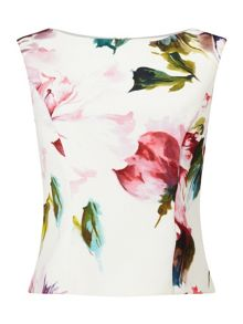 Phase Eight Botanical Scuba Top