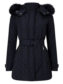 Mistico Diamond Puffer Jacket