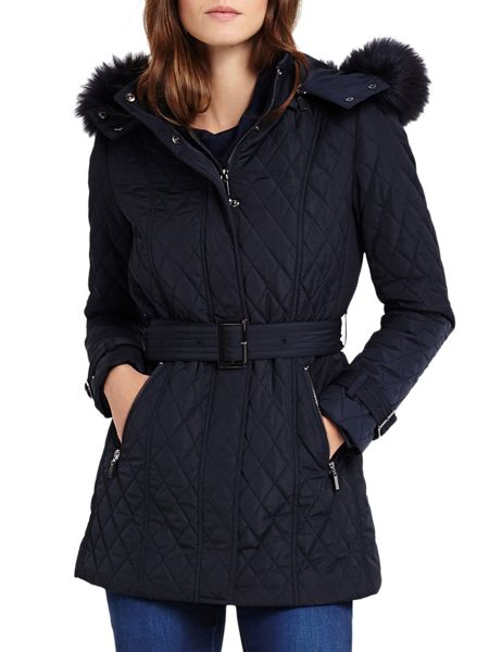 Phase Eight Mistico Diamond Puffer Jacket