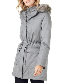 Phase Eight Caprice Fur Trim Puffer Coat