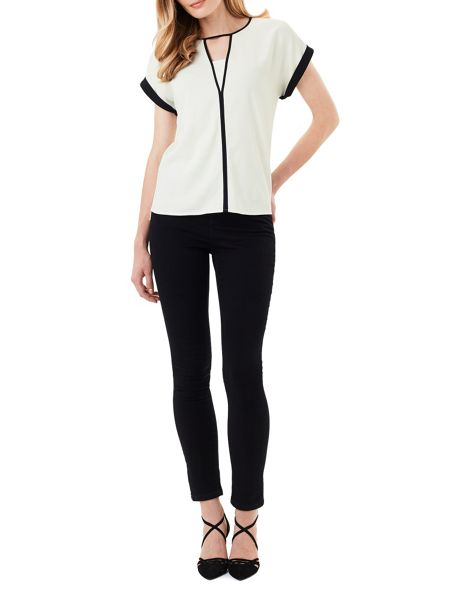Phase Eight Remi Monochrome Blouse