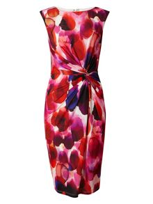 Phase Eight Christie Smudge Print Dress