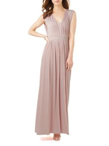 Phase Eight Aldora Pleated Maxi Dress