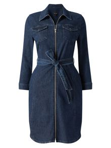 Phase Eight Annabelle Zip Denim Dress