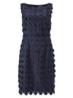 Violetta Circles Lace Dress