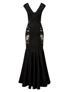 Phase Eight Anne Cutwork Full Length Dress